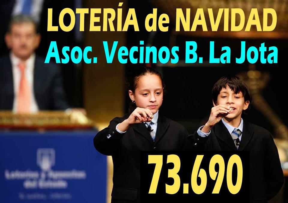 Lotería de Navidad La Jota.