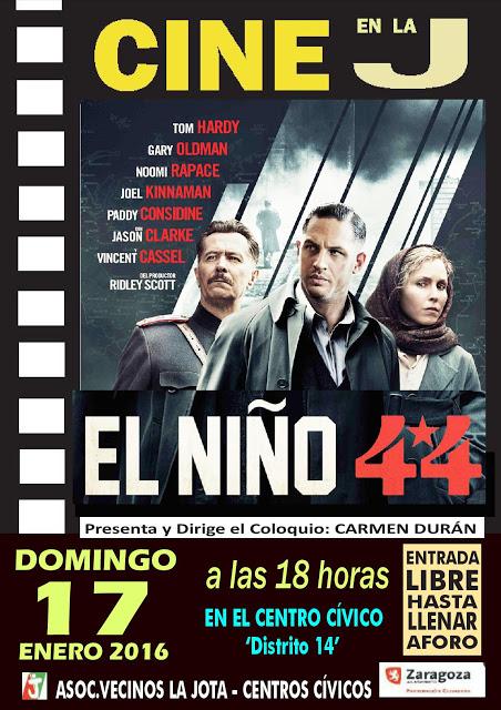 Cine en la J. El Niño 44. 17-01-16