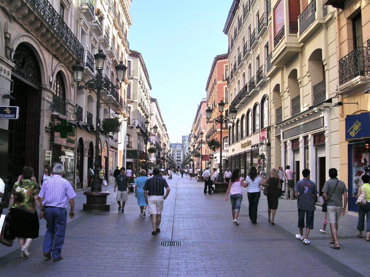 Imagen del casco histórico de Zaragoza