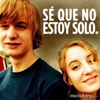 Imagen de una campaña de Stop Bullying