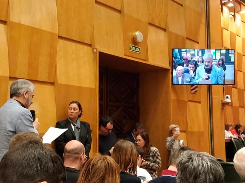 FABZ y entidades sociales: intervención en el pleno del 30/01/2019