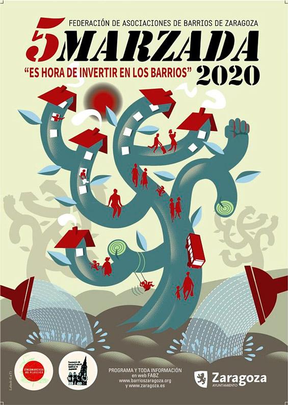 Cartel Cincomarzada 2020