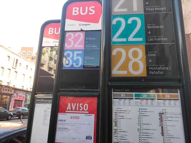 Paradas Bus